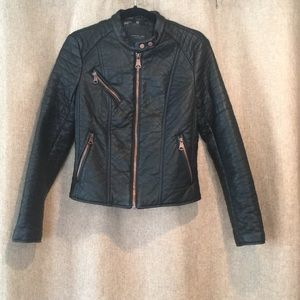 Marc New York faux leather jacket